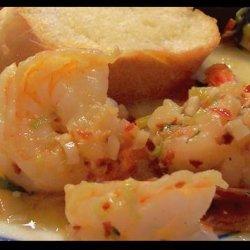 Shrimp or Scallops in Garlic Butter recipe