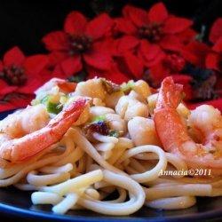 Ww Seafood Linguine - 7 Points recipe