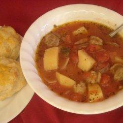 Italian (Turkey) Sausage Soup recipe