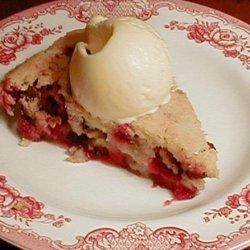 Cape Cod Cranberry Pie recipe