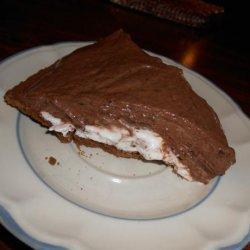 Easy Chocolate Cream Cheese Layer Pie recipe