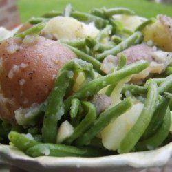 Herbed Red Potatoes and Baby Green Beans recipe