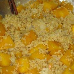 Bulgur Risotto With Pumpkin recipe