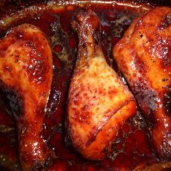 Gordon Ramsay's Sticky Baked Chicken Drumsticks recipe