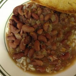 Red Beans and Rice (Crock Pot) recipe