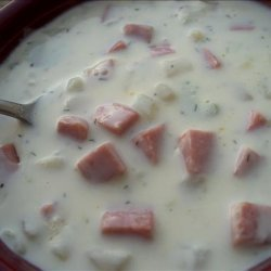 Potato Ham Chowder recipe