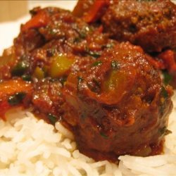 Curried Lamb Meatballs recipe
