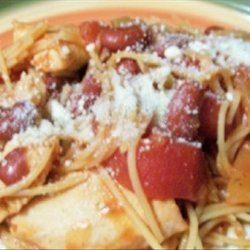 Tuscan Pasta Crock Pot recipe
