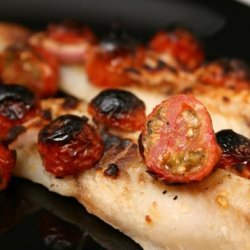 Fish Fillets With Feta and Tomatoes recipe
