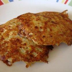 Cheese Potato Pancakes recipe