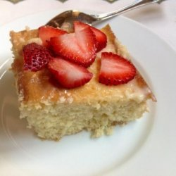 Easy Tres Leches Sheet Cake recipe
