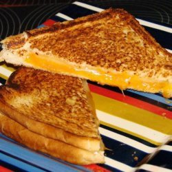 Double- Decker Grilled Cheese Sandwiches recipe