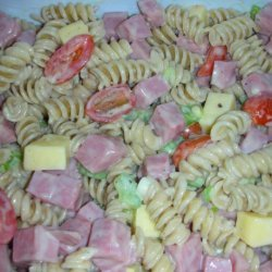 Ham and Smoked Gouda Salad recipe