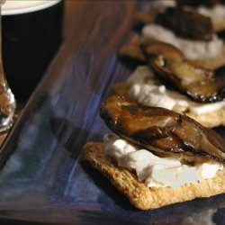 Easy Smoked Oyster Snack recipe