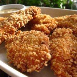 Crispy Chicken Tenders With Honey Mustard Sauce recipe