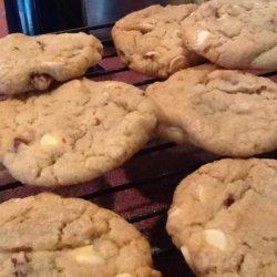 White Chocolate Chip Pecan Cookies recipe