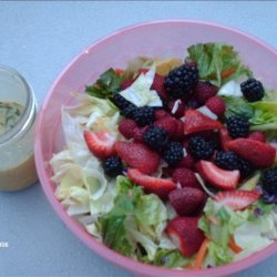 Mixed Greens and Fruit Salad recipe