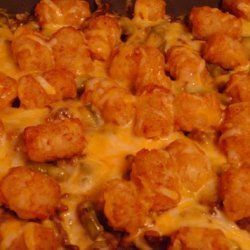 Tater Tot Green Bean Casserole recipe