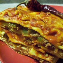 Chili Lasagna recipe