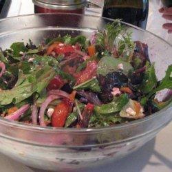 Christmas Tossed Salad recipe