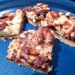 Walnut Crumb Bars recipe