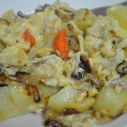 Caramelized Onion & Potato Scramble recipe