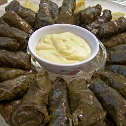 Stuffed Grape Leaves (With Meat) recipe