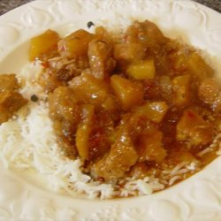 Crock Pot Pork and Pineapple Curry recipe