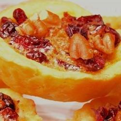 Cranberry Nut Tarts recipe