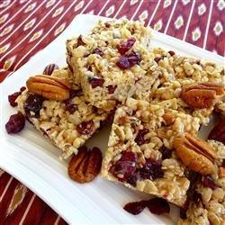 Cranberry Trail Bars recipe