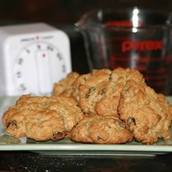 Oatmeal Drop Cookies recipe
