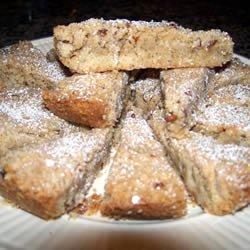 Spiced Pecan Shortbread recipe