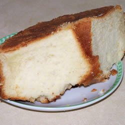 Pound Cake with Rum Topping recipe