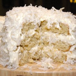 Coconut Cream Cake III recipe