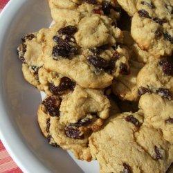 Rum Raisin Cookies recipe