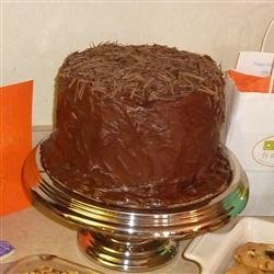 Dark German Chocolate Cake recipe