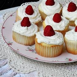 Raspberry White Chocolate Buttercream Cupcakes recipe