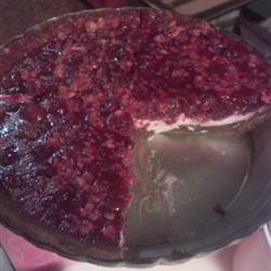 No-Bake Cranberry Sauce Pie recipe