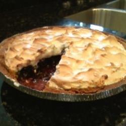 Blueberry Meringue Pie recipe