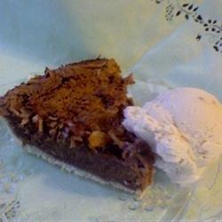 Luby's German Chocolate Pie recipe