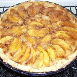 Peaches and Cream Pie I recipe