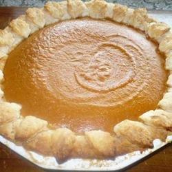 Pumpkin Pie IV recipe