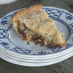 Homemade Mince Pie with Crumbly Topping recipe
