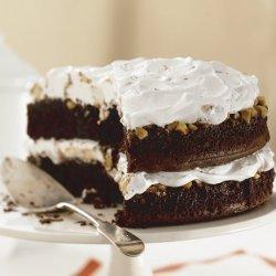 Caramel Nougat Bar Cake recipe