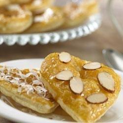 Puff Pastry Valentine Cookies recipe