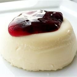 Panna Cotta with Berry Sauce recipe