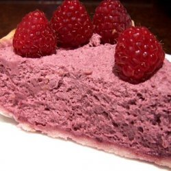 Easy Raspberry Cream Cheese Chiffon Pie recipe