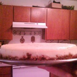 Alton Brown's Sour Cream Cheesecake recipe
