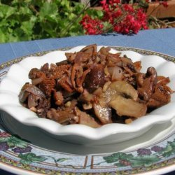 Wild Mushroom Savory Sauté recipe