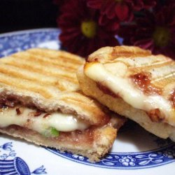 Raspberry Grilled Cheese Sandwiches recipe